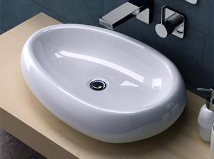 品牌: Jimija型号: X94面盆材质: 陶瓷,现代主义,浴室台盆,
