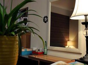 实木镜框(表面石膏铸花)+世界级台湾集团5MM高档银镜,现代主义,浴室镜,