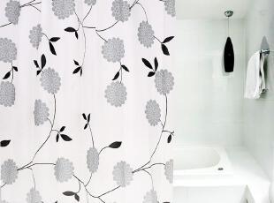 环保,质地柔软细腻!易拆洗,方便实用,色彩斑斓美观,质廉物美! ,现代主义,浴帘,