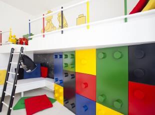 ,现代主义,儿童房,