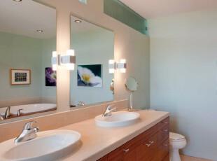 ,现代主义,浴室,