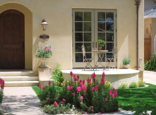 ,地中海风情,庭院,