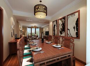 木地板的色调使得空间更加亲近自然。,