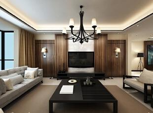 西安城市人家装饰公司│枫林意树156平米新中式装修设计方案,