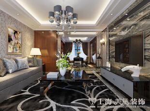 橄榄城135平三室两厅新古典风格装修案例,
