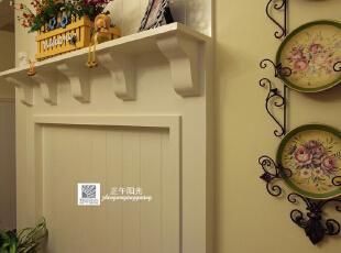 这是二楼起居室完工后的实景照片,