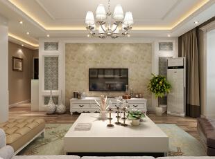 现代客厅的装修运用了大量的黄色来打造,展现出现代化的奢华感。而客厅中的地板、地毯、沙发的颜色以及精湛的制作工艺,具有婉转、柔和的特色。加上布艺窗帘大点缀,使得客厅更加华丽精巧的贵族气质。--想象国际南区120平三室+现代客厅装修效果图展示,