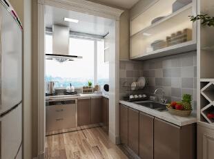现代风格的厨房充满了现代人的浪漫,没错,置身于这样的家居中不仅能给你带来不同的奢华感受,还能提升厨房的整体气质,这种风格的厨房以浅色为主深色为辅,相对比拥有浓厚现代风味的现代装修风格,现代更为清新、也更符合中国人内敛的审美观念。--想象国际南区120平三室+现代厨房装修效果图展示,