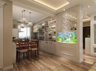 现代风格餐厅装修,简单的装饰,但却流露出与众不同的韵味只是采用了一些温和的色彩,就让人温馨而别致。采用了白色和棕色的搭配,让这种订制的酒柜更有古典的高贵与优雅。加上室内灯光的效果,让餐厅空间充满氛围感,而绿色植物、吊顶灯饰在这里也成为了重要的装饰品。--想象国际南区120平三室+现代餐厅装修效果图展示,