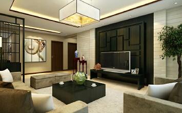 123平13万打造现代中式三居室