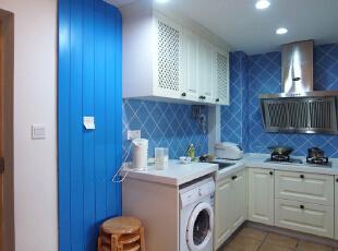 这是厨房的实景照片 ,