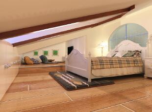 阁楼卧室卧室连带的小休息区,可以看看电影,放松放松心情 ,