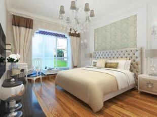 壁纸床头墙,