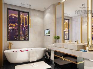 设计师以高贵典雅的香槟金贯穿始终,恰如其分的点缀,和其他的色彩的完美融合,让整个空间的设计感、美感以及文化感都演绎得淋漓尽致。 ,
