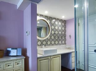 卧室洗手台干区部分,