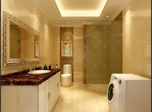 卫生间也许是使用现代化材料最多的空间之一,玻璃、人造石材、铁艺制品等材料不断成为这个空间的必需品而非奢侈品,一个晶莹、光洁的清洁空间。,