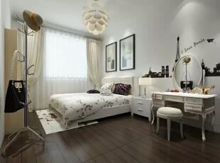 卧室,素雅的空间环境,渲染出的一份小资气息,自然,和谐,还有一份纯净。,