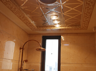【乐豪斯装饰】远见168平三居室法式装修效果图+实景样板间--卫生间样板间,