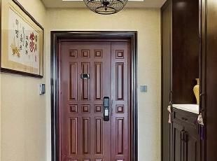 136平现代混搭新中式三室图片