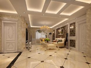 ,客厅,欧式,白色,黄色,黑白,