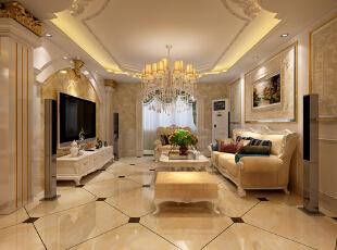 ,客厅,欧式,黑白,黄色,