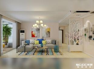 采用了相对较为偏暖的色调,避免了在居室中产生强烈的对比和色差,让装修出来的整个家居空间,显得稳重、大气、简约、朴实,却又不失现代家居的时尚品位,有令人眼前一亮的清新自然的感觉。,