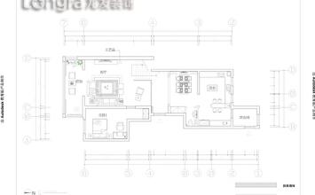 【大同龙发装饰】御锦源262平米新古典主义风格案例赏析