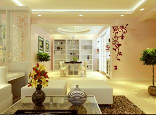 二七所家属院-160平米-现代简约风格--客餐厅,