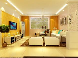 二七所家属院-160平米-现代简约风格--客厅,