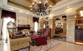 花都区600平美式别墅