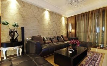 低调奢华 简约风格三居室