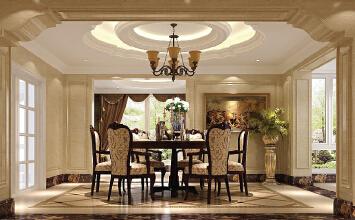 高度国际-新古典风格-四居室装修设计