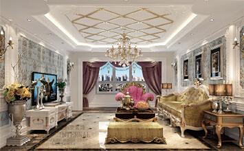 杭州高度国际-欧式风格-别墅装修设计