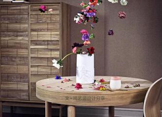 隐形圆木桌,别样的设计,藏着的优雅