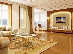 欧式客厅装修,浪漫、奢华你值得拥有!