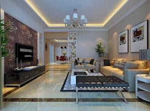 2016现代简约风格客厅装修,舒适而不失典雅!