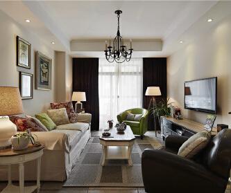 3室2厅80平米美式风格