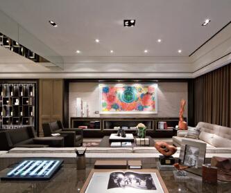 148平现代简约三居室