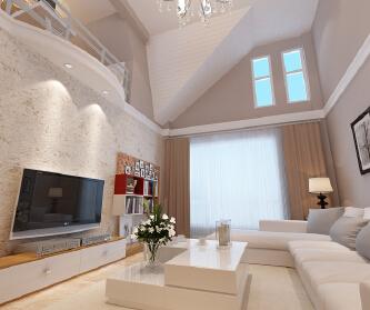 中海城阁楼设计案例