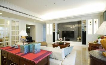 130平现代简约三居室