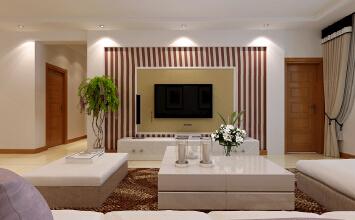 呼铁家园2室2厅95平米现代风格