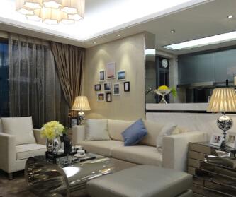 100平现代简约三居室