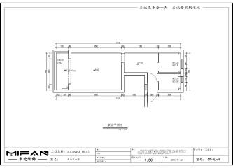 小户型居住房图纸