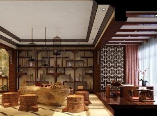 文雅中国风--酒店装饰设计