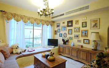 尚善御景3室2厅100平米欧式风格