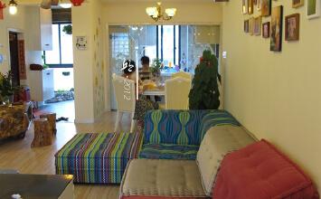 盛德紫阙3室2厅110平米地中海风格