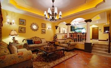 中建华府3室1厅160平米欧式风格