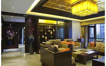 中国铁建·梧桐苑 4室2厅145平米中式风格