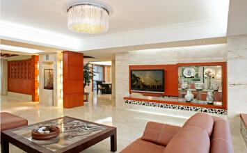 中国铁建·梧桐苑 3室2厅410平米现代风格