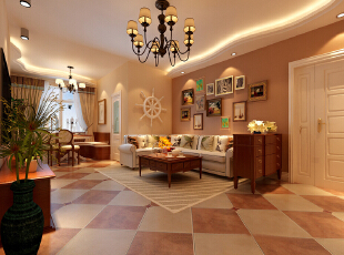 谁空间里有黄2014_平三居田园风情打造一对新人的浪漫空间-谷居家居装修